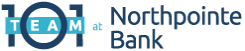 Team 101 at Northpointe Bank Logo